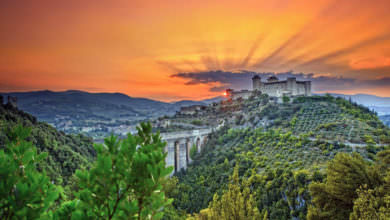 Spoleto, UNESCO world heritage celebrated by artists all over the world!