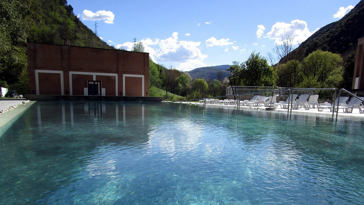 "The thermal center ""Bagni Triponzo"" is affiliated with ""Campagna in Compagnia""!"